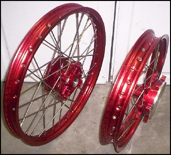 anodized rims for your bike
